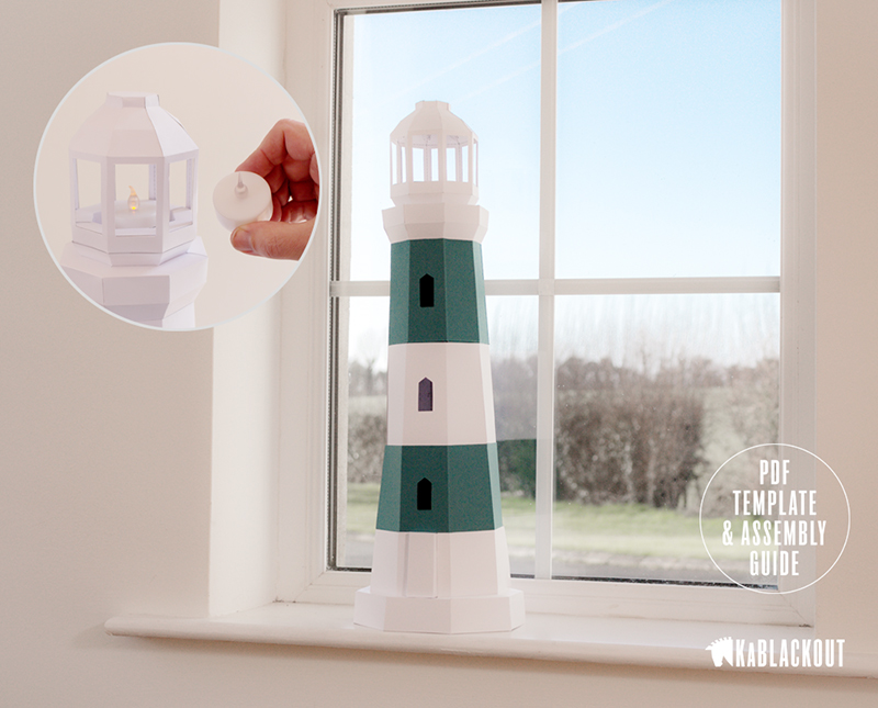 Lighthouse_Papercraft