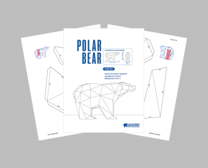 Polar Bear PDF Template image