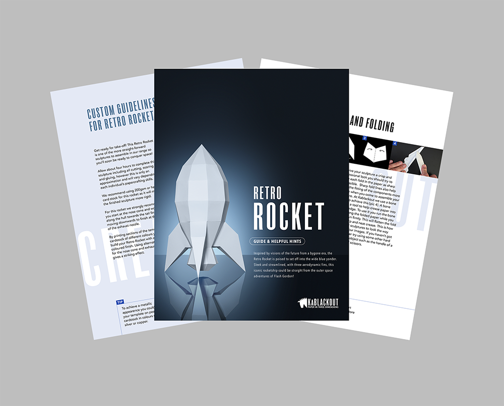Retro Rocket Assembly Guide Image