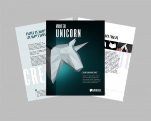 Winter Unicorn PDF Assembly Guide image