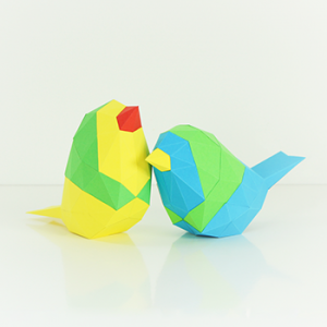 Bird Low Poly Papercraft