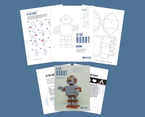 Robot Papercraft Template