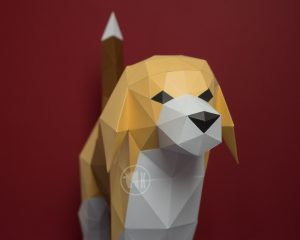 Beagle Dog Template DIY Image