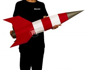 Papercraft Rocket Image