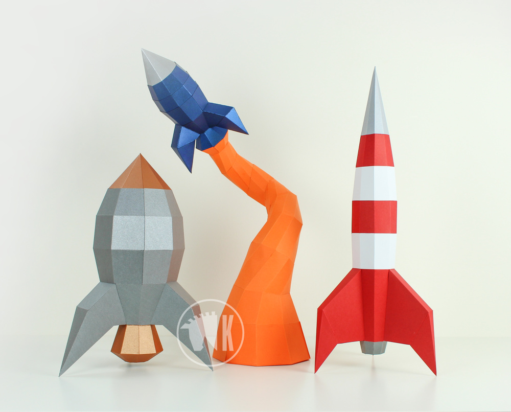 DIY Papercraft Rocket Bundle Offer image