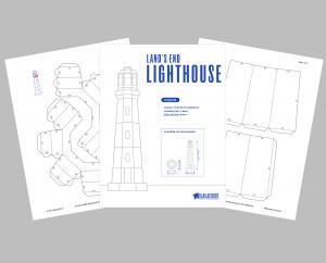 Lighthouse PDF Template image