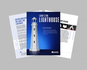 Lighthouse PDF Papercraft Assembly Guide Image