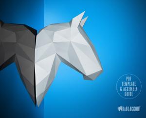 Horse Papercraft image