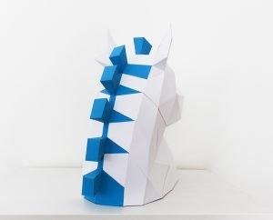 Trojan Horse Papercraft mane
