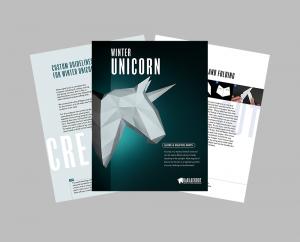 Winter Unicorn PDF Assembly Guide image