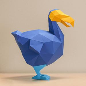 Dodo Papercraft Image