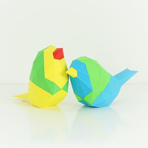 Bird Low Poly Papercraft