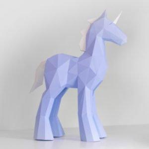 Unicorn_Papercraft_Sculpture