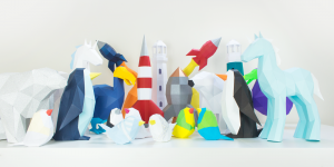 KaBlackout Low Poly Papercraft Templates Homepage Image