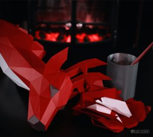 Deer_Papercraft_emplate_Assembly_image