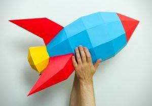 XL Retro Rocket Image
