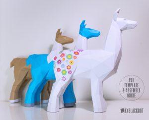DIY Llama Template