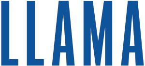 Llama Papercraft Text