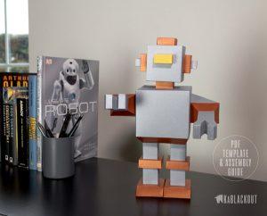 Robot Papercraft