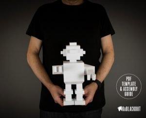 Robot Paper Craft
