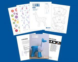 Llama PDF TEmplate