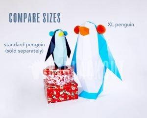 Penguin Papercraft Template XL Image