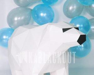XL Papercraft Polar Bear Template