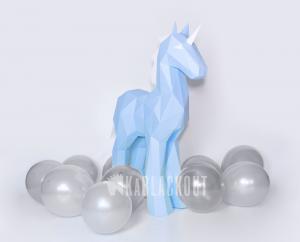 unicorn template diy papercraft image