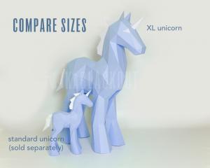 XL Unicorn Template Image
