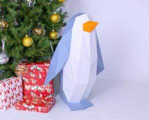 XL Penguin Template