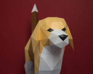 Beagle Dog Template DIY Image