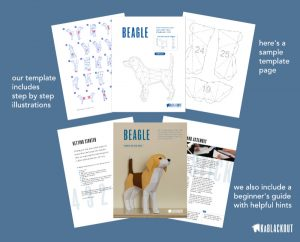 Beagle PDF Template image