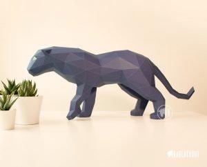Photograph of Papercraft Panther