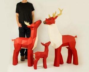 Papercraft Sculptures image
